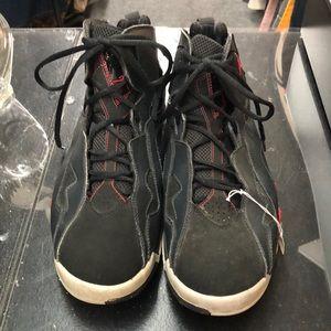 Black, Red and gray Jordan's sz 10 sneakers